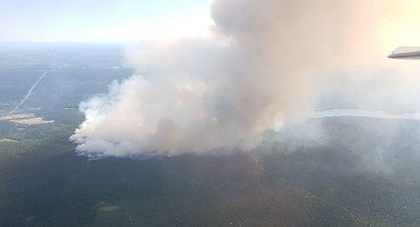 El número de incendios activos en la provincia asciende actualmente a 162.