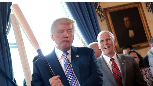 El presidente estadounidense Donald Trump aplaudió el plebiscito inconstitucional organizado por la oposición el 16 de julio