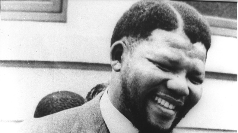 Mandela, pictured in the early 1960s, before he was sentenced in 1964.