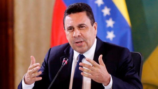Moncada criticó la campaña internacional contra el Estado venezolano