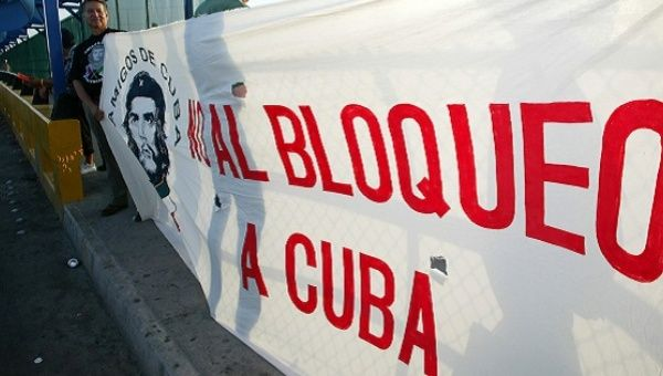 Fifteen years ago the U.N. declared the blockade illegal and has done so on a yearly basis ever since.