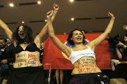 Opinion polls show about 70 percent of Chileans favor easing the abortion ban.