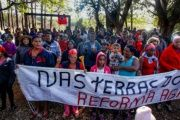 MST families are occupying multiple farmlands in Brazil.