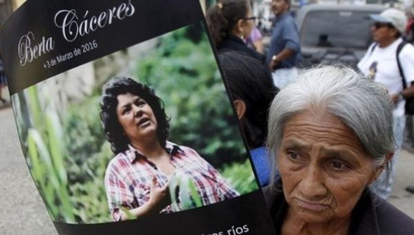 The family of Caceres blamed the president of Honduras for the attacks they have suffered.