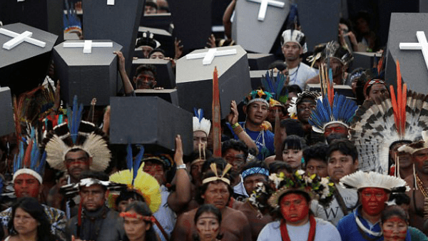 Almost nine out of every ten activists killed in Brazil were killed in the Amazon rainforest, a new study by Global Witness stated.