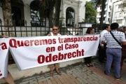The Panamanian people demand transparency in the Odebrecht case.