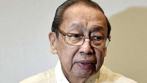 Communist Party of the Philippines Chairman Jose Maria Sison
