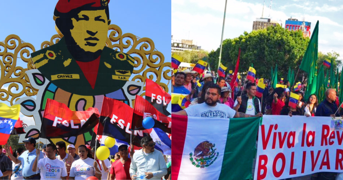 Social movements across Mexico and Central America are among those expressing solidarity with Venezuela's fight against imperialist intervention.