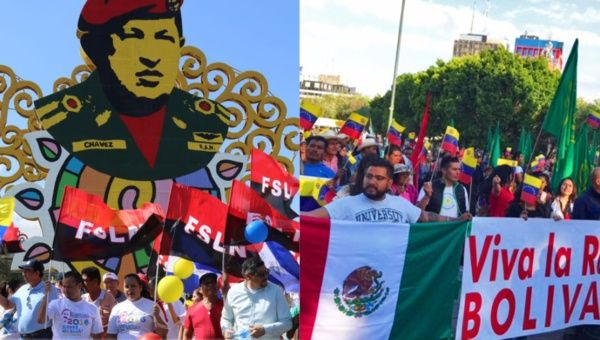 Social movements across Mexico and Central America are among those expressing solidarity with Venezuela