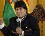 Morales announced his disapproval of the U.S. sanctions against Russia through his Twitter account.