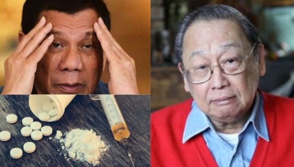 Duterte has admitted to overusing the painkilling drug Fentanyl to treat a motorcycle injury he sustained when he was 68.