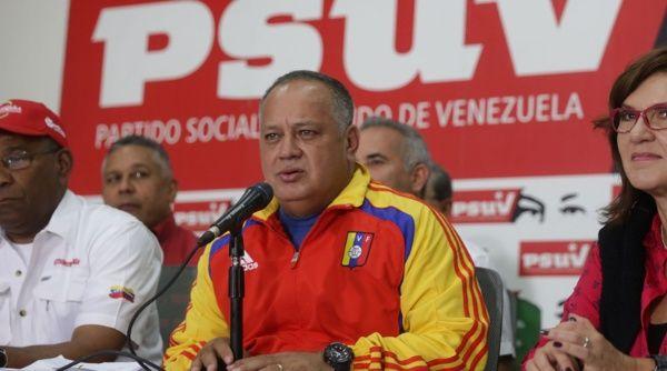 """""""La comunidad internacional debería estar preocupada por el despertar de la libertad en otras naciones"""", dijo el candidato a la Constituyente, Diosdado Cabello."""