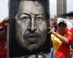 Venezuelans at a march in support of  President Nicolas Maduro, successor to the late Hugo Chavez.