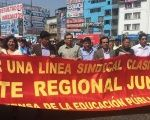Teacher's strike in Peru reaches the capital city of Lima to demand more investment from the government.