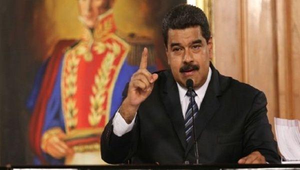 President Nicolas Maduro of Venezuela.