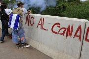 The suggestion that Canal protests are vulnerable to the kind of murderous violence prevalent in Nicaragua's Northern Caribbean Autonomous Region is false.