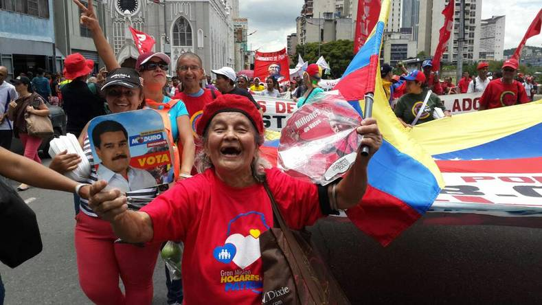 "Newly elected President of the Constituent Assembly Delcy Rodriguez says, ""The Venezuelan people will not turn their fate to a violent minority. We"