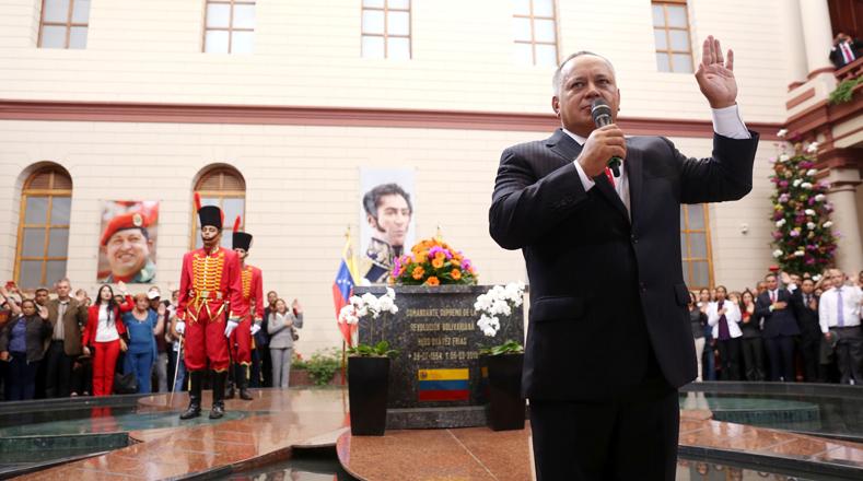 Finalmente, el recorrido terminó en el Cuartel 4F, donde se encuentran los restos del exmandatario Hugo Chávez Frías.