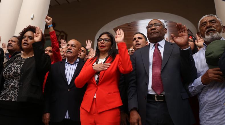 Los constituyentistas expresaron que plasmarán las conquistas y logros que ha alcanzado el pueblo durante la Revolución Bolivariana.