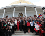 Members of Venezuela's National Constituent Assembly.