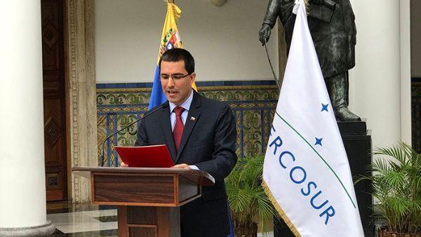 Denuncia Venezuela medida injerencista de retirar al país como Estado parte de MERCOSUR