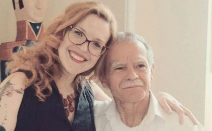 Aline Piva and Oscar Lopez Rivera.