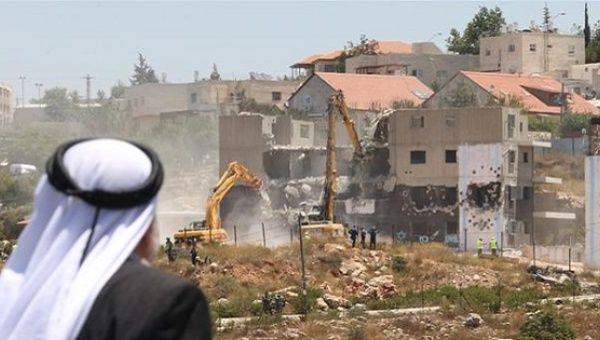 Image result for palestine demolish