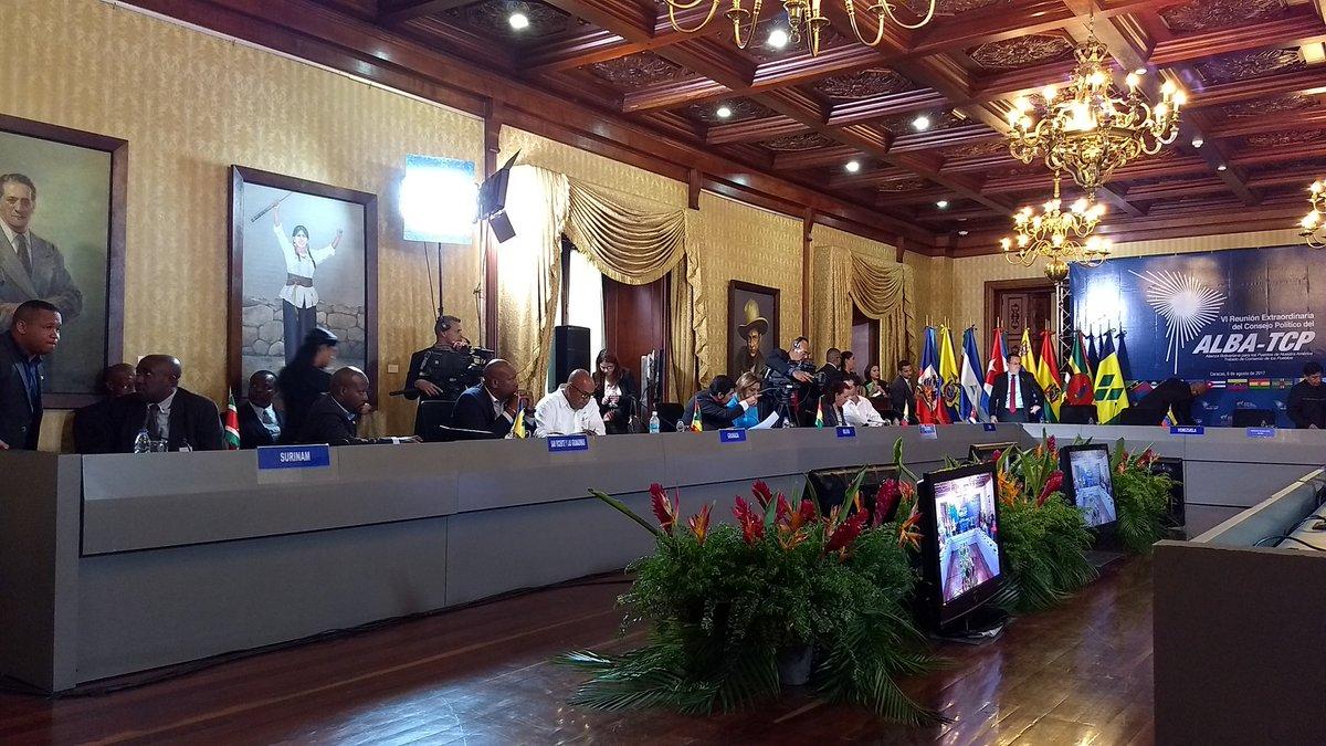 Inicia VI Reunión Extraordinaria de Consejo Político del ALBA-TCP