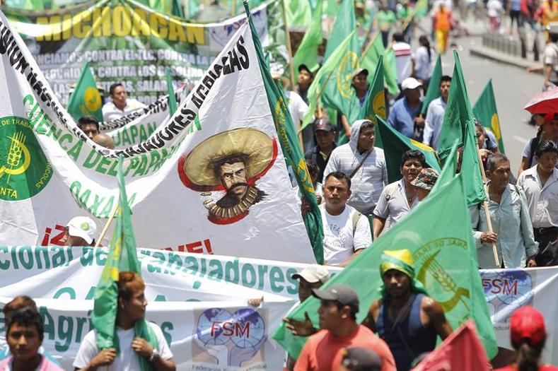 On August 8, 2017 campesinos marched in their numbers to fight for agricultural rights. On the 138th of his birth, Zapata remains an enduring symbol of the struggle