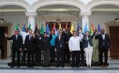 Members of ALBA countries reiterate their support for the Venezuelan government.