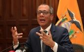 The Ecuadorean Vice President Jorge Glas says he has nothing to hide