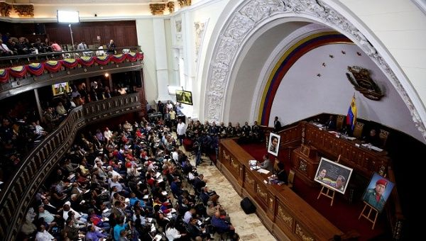 The National Constituent Assembly meets in Caracas.