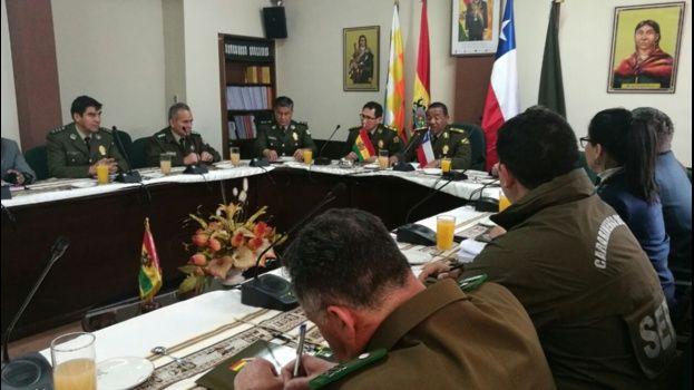 Bolivia y Chile evalúan agenda contra delitos fronterizos