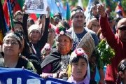 The Mapuche are still struggling to claim their lands after decades of resistance.