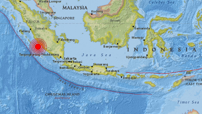 Un terremoto de magnitud 6,4 sacude isla indonesia de Sumatra | Noticias |  teleSUR