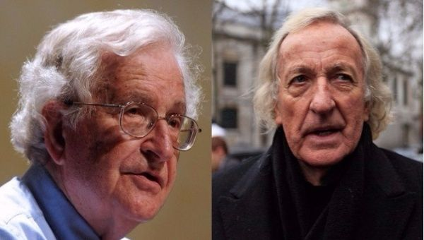 John Pilger commented that Trump's threat of military aggression against Venezuela falls in line with U.S. history in the past century.