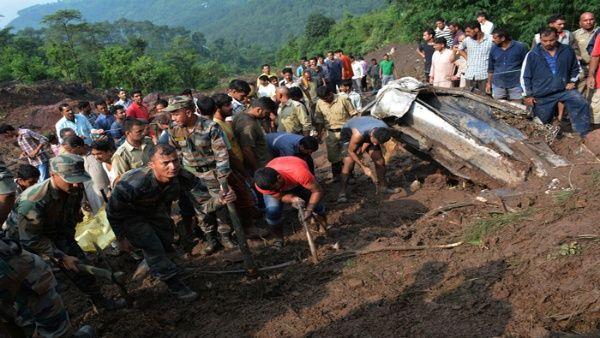 India ha sufrido últimamente de varios desastres naturales.
