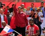 Maduro addressed the multitude of people on the streets of Caracas at the Anti-Imperialist March against President Donald Trump's military threats.