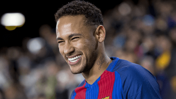 Neymar won two La Liga titles, a Champions League and three Spanish Cups with Barcelona