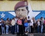 Voters line up to cast their ballot in Venezuela's dry run vote ahead of the National Constituent Assembly, July, 16, 2017.