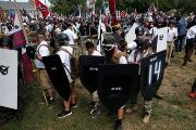 White nationalists traveled to Charlottesville for the 'Unite the Right' rally.