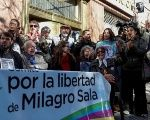Several organizations in Argentina have demanded the release of Milagro Sala.