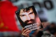 Protesters are demanding justice for Santiago Maldonado