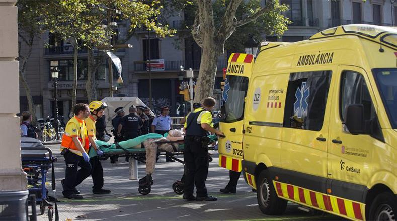 Barça usará camisas especiales por víctimas de ataques  fb4120a8e2d