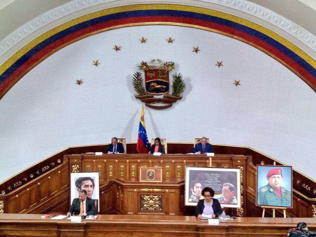 Delcy Rodríguez, presidenta de la ANC, señaló que los directivos opositores continúan desconociendo la voluntad de los venezolanos.