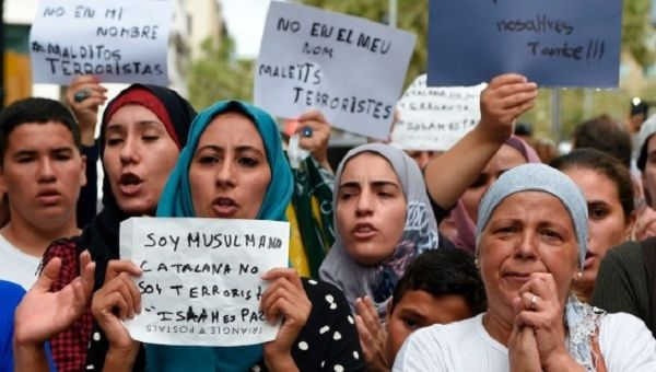 'Not in Our Name!': Barcelona Muslims Denounce Attacks ...