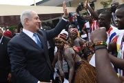 Israeli Prime Minister Benjamin Netanyahu attended the ECOWAS summit in Liberia in June