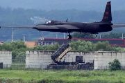 A U.S. Air Force U-2 Dragon Lady takes part in a drill at Osan Air Base in Pyeongtaek, South Korea, Aug. 21, 2017.