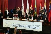 The Parliament of Mercosur has issued a strong statement in support of Venezuela's sovereignty.