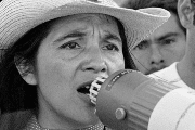 Huerta was a prominent activist for campesino labor rights.